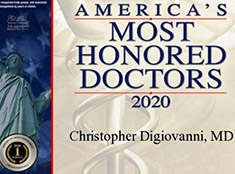America's Most Honored Professional - Christopher W. DiGiovanni, MD - Orthopaedic Surgeon