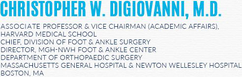 Christopher W. DiGiovanni, MD - Orthopaedic Surgeon